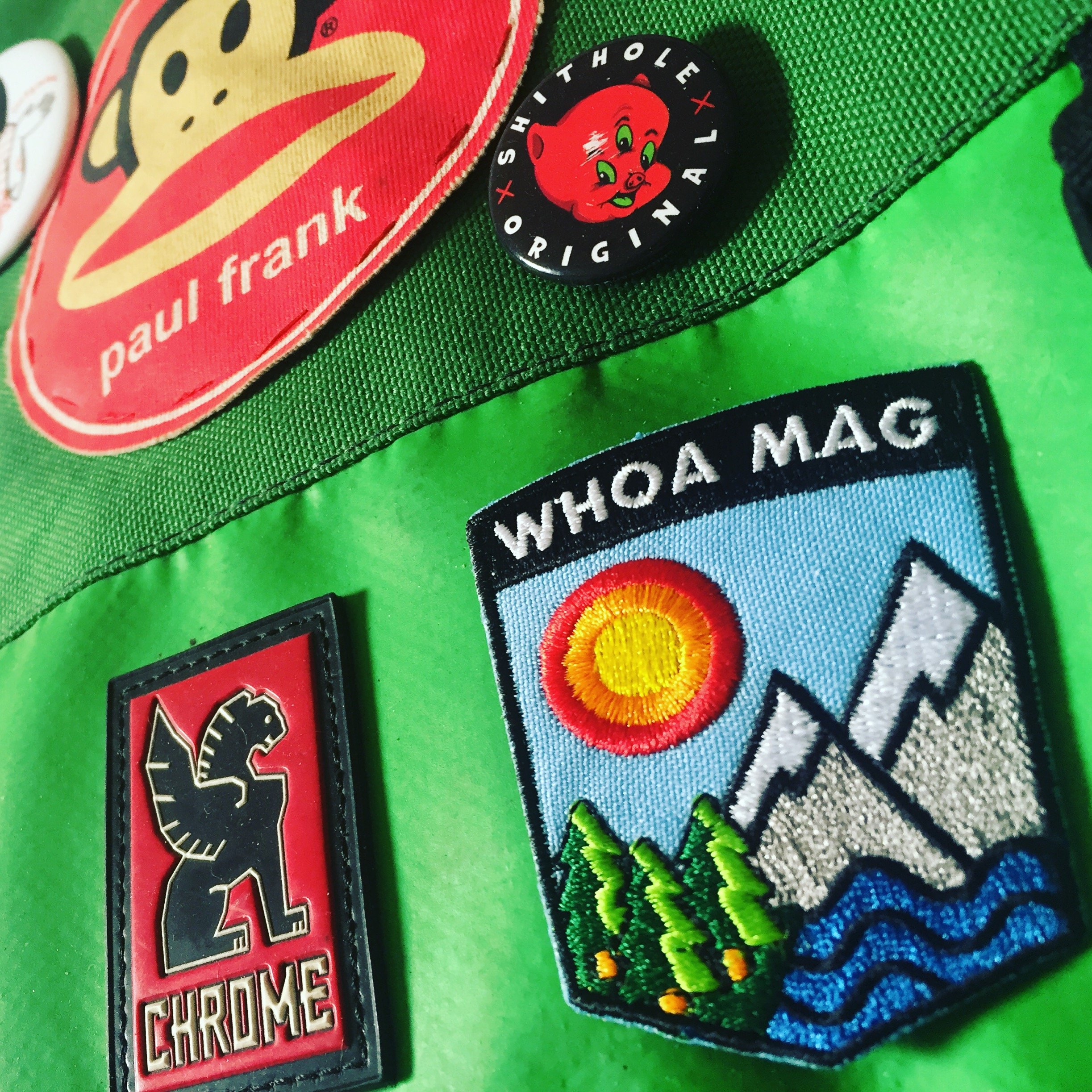 Whoa Mag Patch