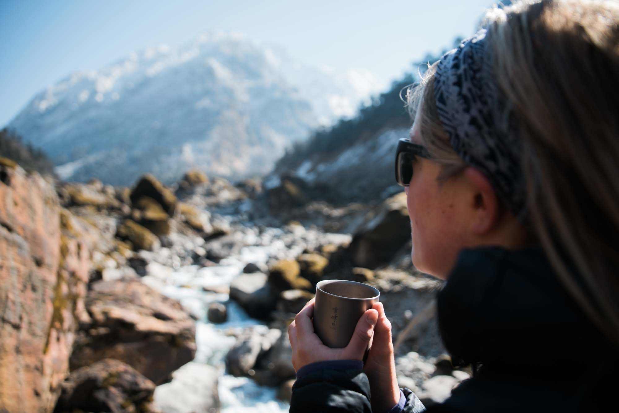 Charlotte Austin in Nepal. Photo by Bryan Aulick.