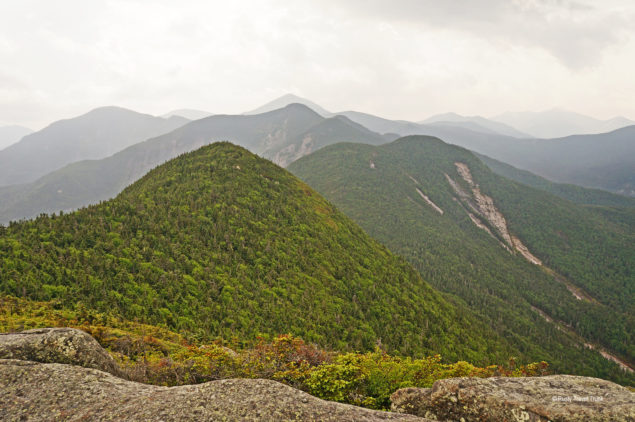Beautiful views from the summits in the Adirondacks. Photo by the author.