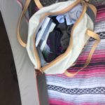 Sherpani Fallon Wool Weekender - Holds as much as a 35L pack.