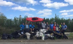 TODO's 2016 Chicago River Clean Sweep.